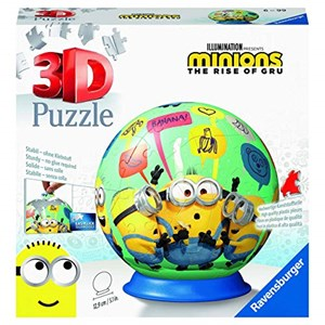 """Ravensburger (11179) - """"Minions 2, The Rise of Gru"""" - 72 pieces puzzle"""
