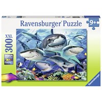 "Ravensburger (13225) - Howard Robinson: ""Smiling Sharks"" - 300 pieces puzzle"