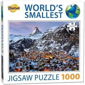 "Cheatwell Games (13114) - ""Matterhorn"" - 1000 pieces puzzle"