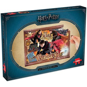 "Winning Moves Games (2497) - ""Harry Potter, Quidditch"" - 1000 pieces puzzle"