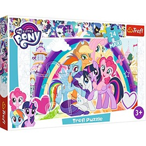 "Trefl (14269) - ""Happy Ponies"" - 24 pieces puzzle"