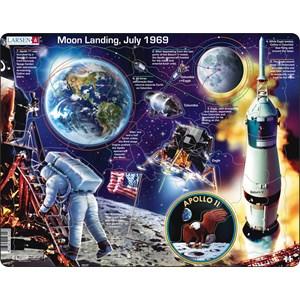 """Larsen (NB5-GB) - """"Apollo 11 - GB"""" - 50 pieces puzzle"""