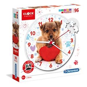 """Clementoni (23039) - """"Cute Puppy"""" - 96 pieces puzzle"""