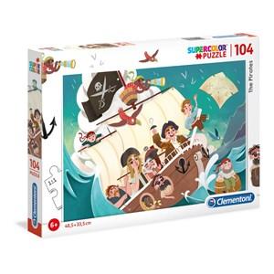 """Clementoni (27278) - """"The Pirates"""" - 104 pieces puzzle"""