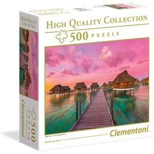 """Clementoni (96156) - """"Colorful Paradise"""" - 500 pieces puzzle"""