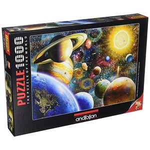 """Anatolian (1033) - Adrian Chesterman: """"Planets in Space"""" - 1000 pieces puzzle"""