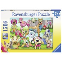 "Ravensburger (10041) - ""Patchwork Pups"" - 150 pieces puzzle"