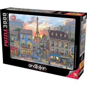 "Anatolian (ANA4910) - ""Streets of Paris"" - 3000 pieces puzzle"