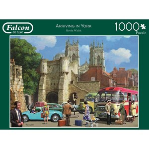 "Falcon (11231) - Kevin Walsh: ""Arriving in York"" - 1000 pieces puzzle"