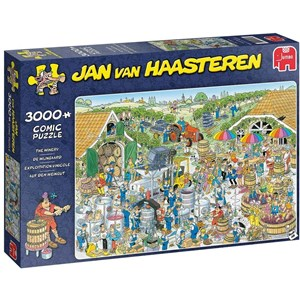 "Jumbo (19198) - Jan van Haasteren: ""The Winery"" - 3000 pieces puzzle"