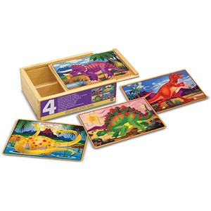 "Melissa and Doug (13791) - ""Dinosaur"" - 12 pieces puzzle"