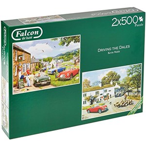 "Falcon (11215) - Kevin Walsh: ""Driving in The Dales"" - 500 pieces puzzle"