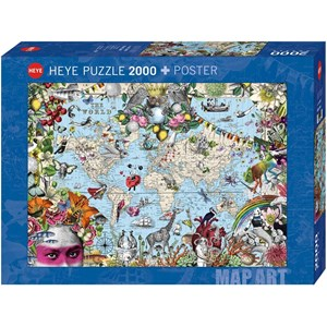 """Heye (29913) - """"Quirky World"""" - 2000 pieces puzzle"""