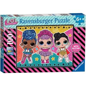"""Ravensburger (12881) - """"LOL Surprise"""" - 100 pieces puzzle"""