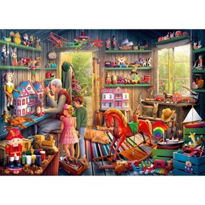 "Gibsons (G6249) - ""Toymaker's Workshop"" - 1000 pieces puzzle"