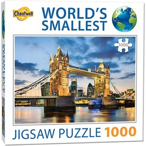 """Cheatwell Games (13954) - """"World's Smallest"""" - 1000 pieces puzzle"""