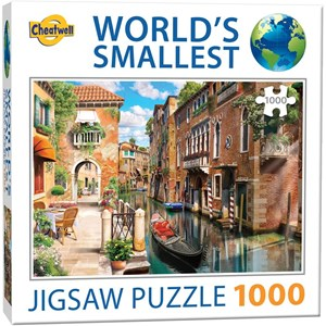 """Cheatwell Games (13985) - """"Venice Canals"""" - 1000 pieces puzzle"""