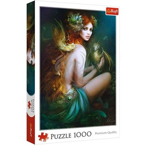 """Trefl (10592) - """"Friend of the dragons"""" - 1000 pieces puzzle"""