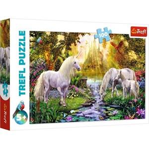"Trefl (16349) - ""Secret Garden"" - 100 pieces puzzle"