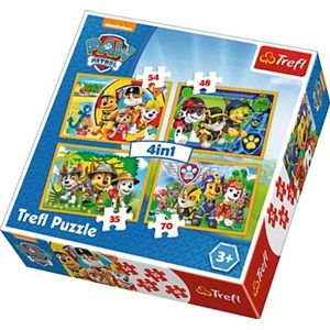 """Trefl (34307) - """"Always on Time"""" - 35 48 57 70 pieces puzzle"""