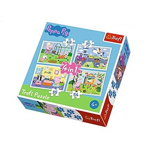 """Trefl (34316) - """"The memories of holidays"""" - 35 48 54 70 pieces puzzle"""