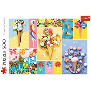 "Trefl (37335) - ""Favorite Candy"" - 500 pieces puzzle"