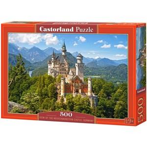 """Castorland (B-53544) - """"Neuschwanstein Castle, Germany"""" - 500 pieces puzzle"""