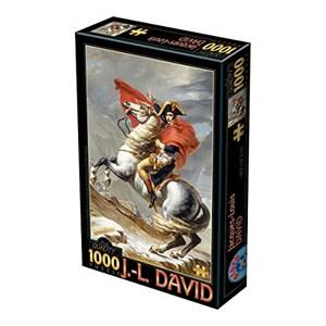 """D-Toys (72719-1) - Jacques-Louis David: """"Bonaparte Crossing the Alps"""" - 1000 pieces puzzle"""