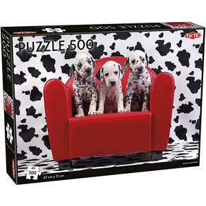 "Tactic (55251) - ""Dalmatian Puppies"" - 500 pieces puzzle"