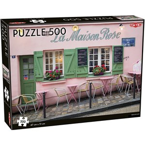 "Tactic (55259) - ""Parisian Café"" - 500 pieces puzzle"