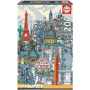 """Educa (18471) - Carlo Stanga: """"Paris"""" - 200 pieces puzzle"""