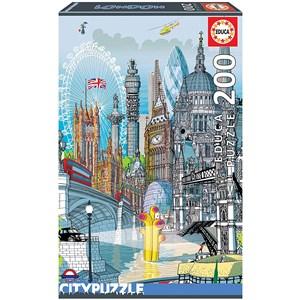 "Educa (18470) - Carlo Stanga: ""London"" - 200 pieces puzzle"