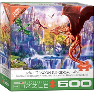 "Eurographics (6500-5362) - ""Dragon Kingdom"" - 500 pieces puzzle"