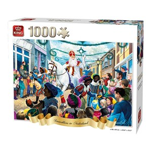 "King International (55813) - ""Sinterklaas in The Netherlands"" - 1000 pieces puzzle"