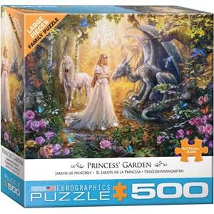 "Eurographics (6500-5458) - ""Princess' Garden"" - 500 pieces puzzle"