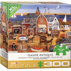 "Eurographics (8300-5390) - Carol Dyer: ""Seaside Antiques"" - 300 pieces puzzle"