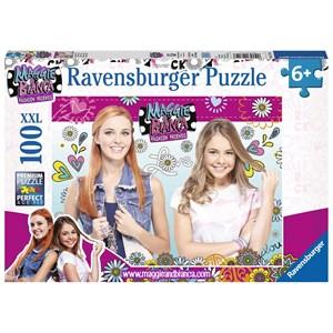 "Ravensburger (10714) - ""Maggie & Bianca"" - 100 pieces puzzle"