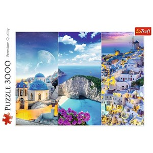 "Trefl (33073) - ""Greek Holidays"" - 3000 pieces puzzle"
