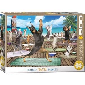 "Eurographics (6500-5454) - ""Yoga Spa"" - 500 pieces puzzle"
