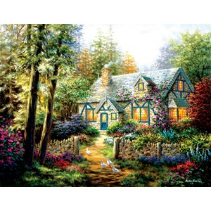"SunsOut (19206) - Nicky Boehme: ""A Country Gem"" - 1000 pieces puzzle"
