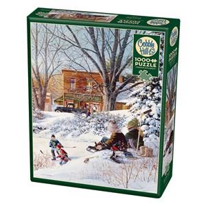 "Cobble Hill (80207) - Douglas Laird: ""Getting Ready"" - 1000 pieces puzzle"