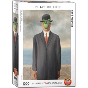 "Eurographics (6000-5478) - Rene Magritte: ""Son of Man"" - 1000 pieces puzzle"