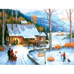 """SunsOut (62114) - John Zaccheo: """"Sap House"""" - 500 pieces puzzle"""