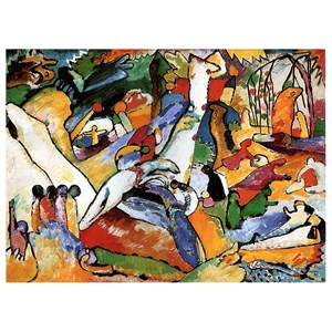 "D-Toys (72849) - Vassily Kandinsky: ""Composition II"" - 1000 pieces puzzle"