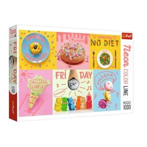 "Trefl (10580) - ""Sweet Week"" - 1000 pieces puzzle"