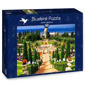 "Bluebird Puzzle (70265) - Adrian Chesterman: ""Bahá'í gardens"" - 1000 pieces puzzle"