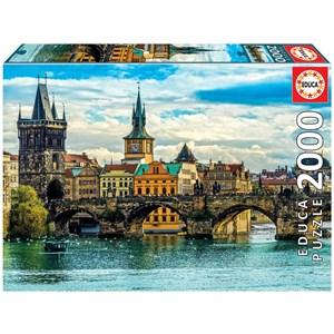 """Educa (2000) - """"Prague"""" - 2000 pieces puzzle"""