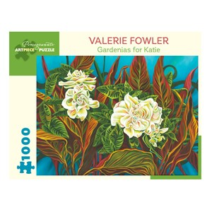 "Pomegranate (aa1044) - Valerie Fowler: ""Gardenias for Katie"" - 1000 pieces puzzle"