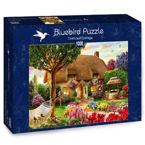"Bluebird Puzzle (70319) - Adrian Chesterman: ""Thatched Cottage"" - 1000 pieces puzzle"