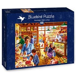 """Bluebird Puzzle (70326) - Steve Crisp: """"Nostalgic Cake shop"""" - 1000 pieces puzzle"""
